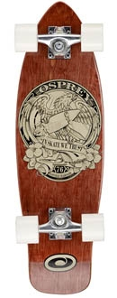 'In Skate We Trust' Single Kick Mini Cruiser