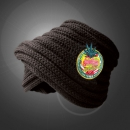 Strawberry Haze - Black - Rasta Headband