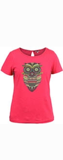 Womens Athene Rose Red T-Shirt