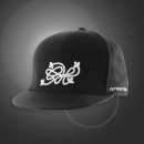 Hip Hop 3D - Black - Cap