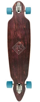 Diamond Blue Longboard