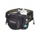 Foldable waist bag rounded